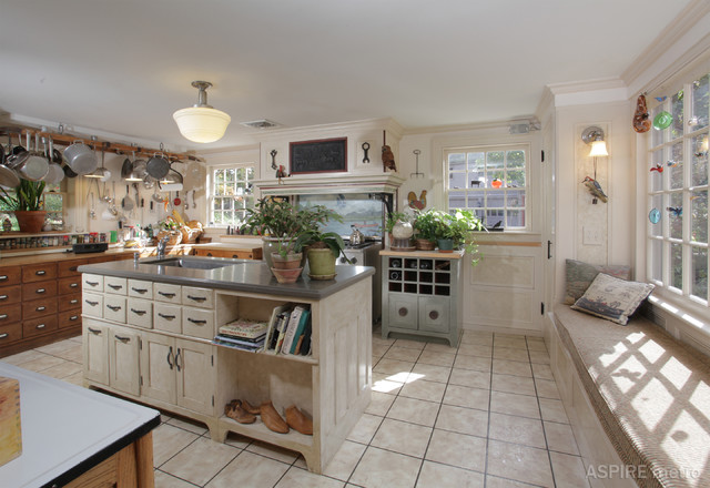 American colonial revival home traditional kitchen for Houzz magazine