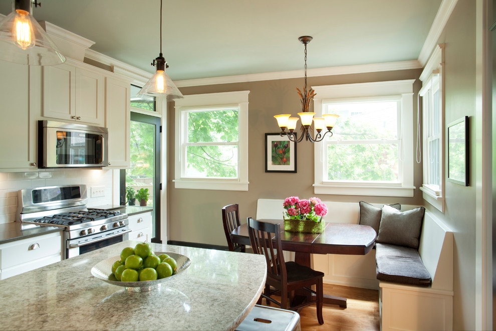 American Foursquare Revived - Traditional - Kitchen ...