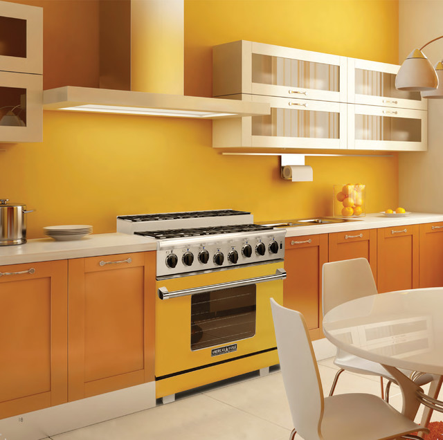 American Range Home Appliances contemporary-kitchen