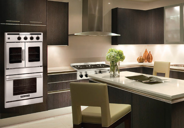 American Range Legacy Series French And Chef Door Wall Ovens Contemporary  Kitchen