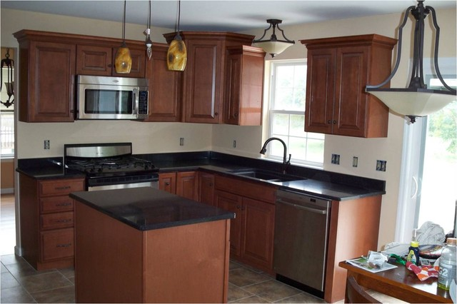 American Woodmark- Winchester Auburn Glaze - Modern - Kitchen - Other - by Lowe's of Reading Pa.