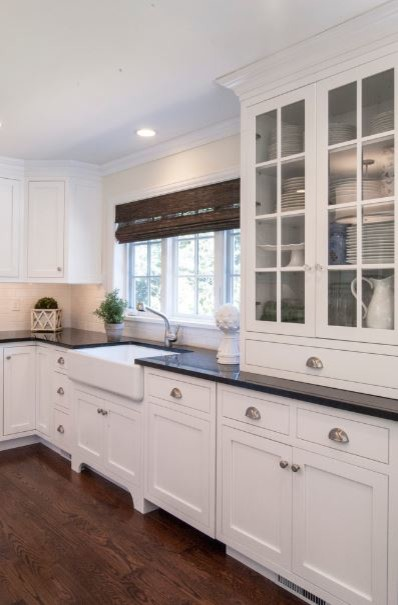Ample charm transitional kitchen philadelphia by for Adelphi kitchen cabinets