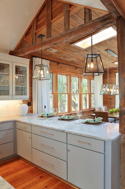Amy Trowman Design - Beach Houses beach-style-kitchen