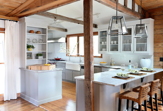 Peachy Amy Trowman Design Beach Houses Beach Style Kitchen San Largest Home Design Picture Inspirations Pitcheantrous