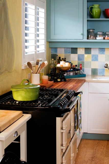 An Artist's Domain traditional-kitchen