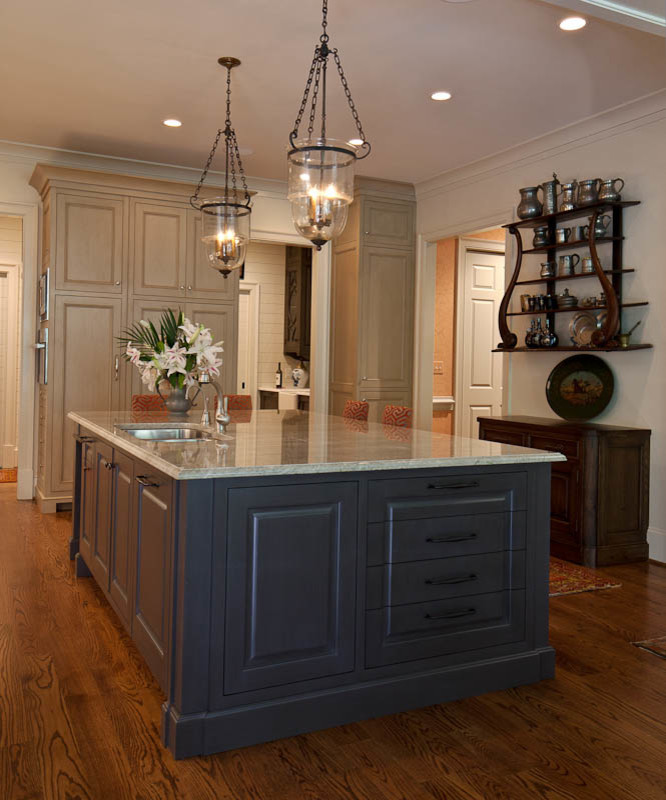 An Atlanta Transitional Project - Contemporary - Kitchen ...
