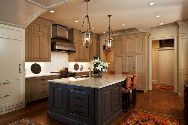 An Atlanta Transitional Project Contemporary Kitchen
