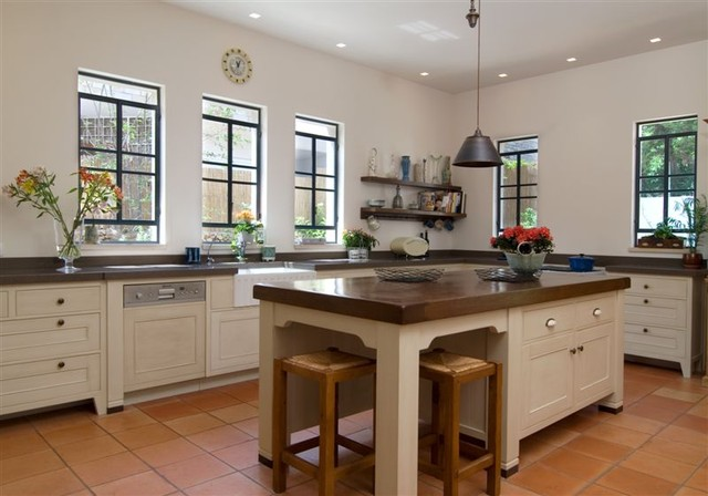 an eclectic house eclectic-kitchen