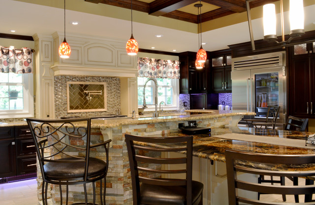 An entertainer 39 s oasis the ultimate gourmet kitchen for Kustom kitchens