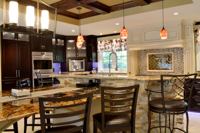 An entertainer 39 s oasis the ultimate gourmet kitchen Ultimate kitchen designs