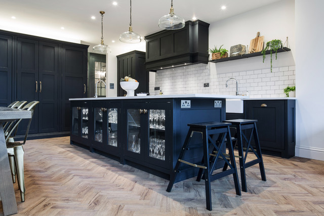 An Industrial Style Kitchen Extension By Burlanes ...