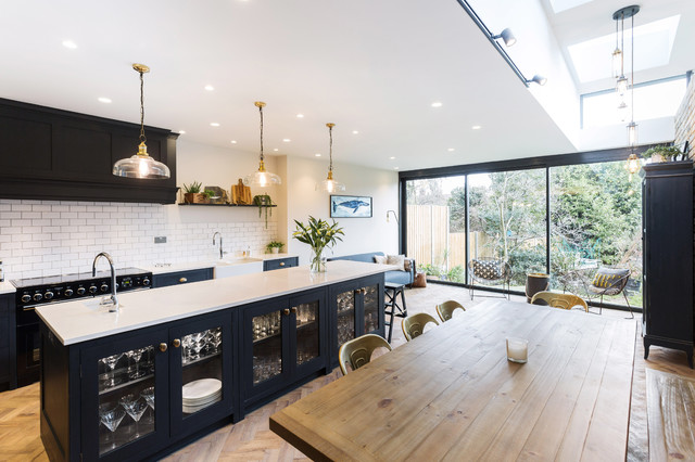 An Industrial Style Kitchen Extension By Burlanes - Industrial - Kitchen -  London - by burlanes interiors | Houzz UK