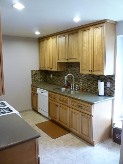 Anaheim Condo Kitchen Upgrade Transitional Kitchen Los Angeles By Sk Home Designs