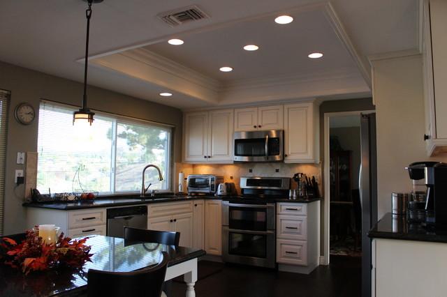 Anaheim Hills Kitchen Laundry Living Room Remodeling Hardwood Floor