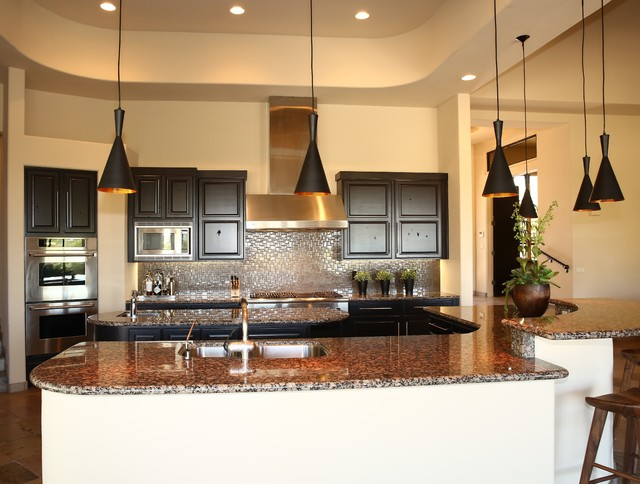 """""""Ancala"""" Residence in North Scottsdale contemporary-kitchen"""