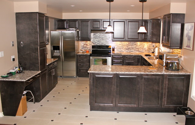 Ancaster Project traditional-kitchen