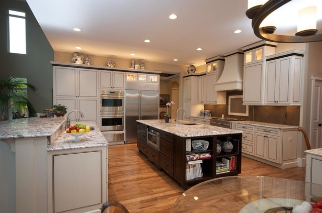 Anchorage custom home designs for Anchorage kitchen cabinets