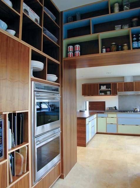 Anderson kitchen modern kitchen seattle by kerf design for Modern kitchen cabinets seattle