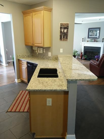 Andrews granite traditional kitchen other metro by for Accents salon chagrin falls