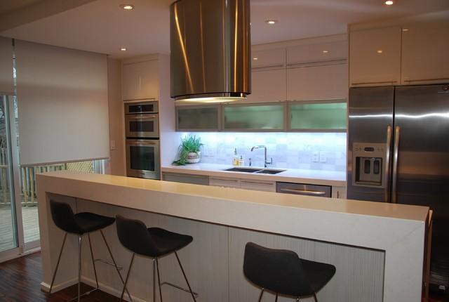 Angelika One Wall Modern Kitchen Toronto By Svea
