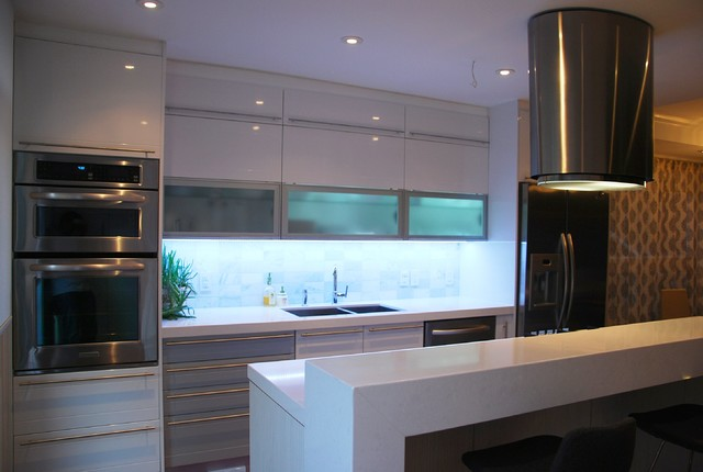 Angelika One Wall Modern Kitchen Toronto By SVEA