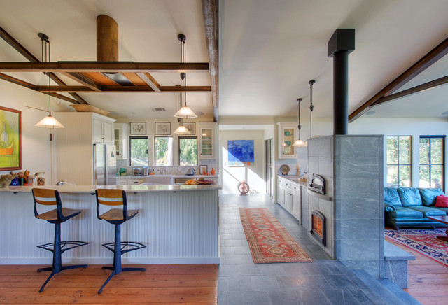 Angwin Country Estate traditional-kitchen