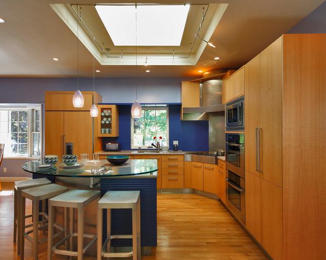 Anigre contemporary-kitchen