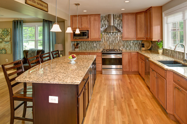 Annandale Exterior & Interior Remodel traditional-kitchen