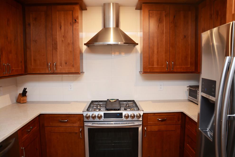 Annandale, VA Kitchen Remodel - Traditional - Kitchen ...
