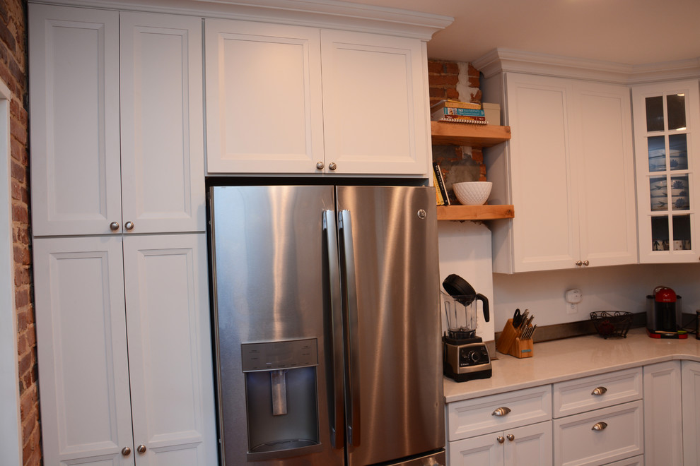 Annapolis, MD Old Row House Kitchen Remodel - Traditional ...