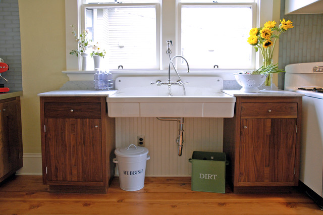 Kitchen Sinks. kitchen sink without cabinet: cool white rectangle ...