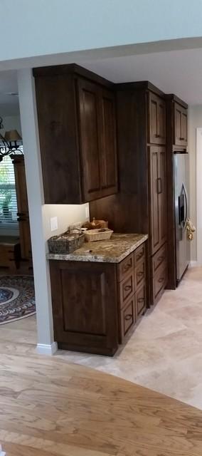 Ansaldo Kitchen Remodel rustic