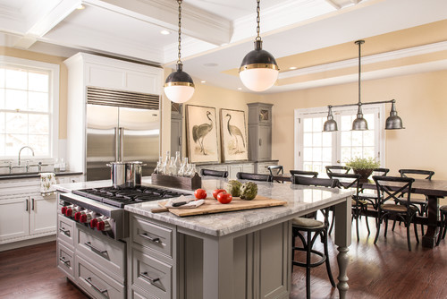 Photo By Renewal Design Build A Cooktop Island Will Revolutionize Your Thanksgiving Cooking