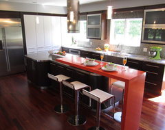 Ante Bellum Estate contemporary-kitchen