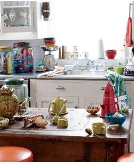 Exceptionnel Example Of An Eclectic Kitchen Design In Other