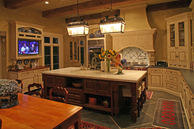 bathroom vanities and sinks antique beams highlight and give warmth to this kitchen 16939