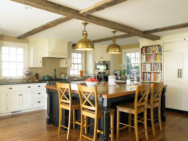 Antique Colonial Kitchen Traditional Kitchen New York By