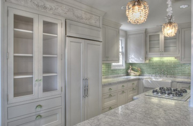 Antique Eclectic Kitchen traditional-kitchen