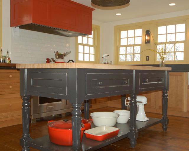 Antique Farmhouse Kitchen traditional-kitchen