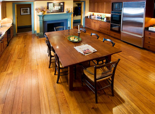 kitchen wood flooring antique pine flooring traditional kitchen dc metro 3508