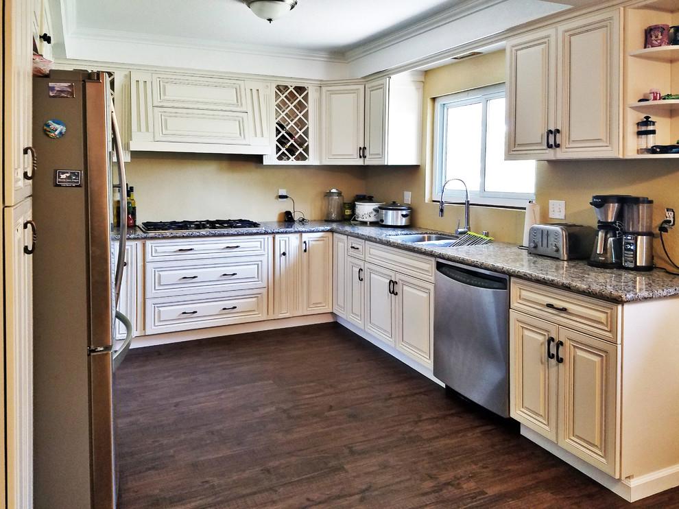 Antique White Kitchen Cabinet - Traditional - Kitchen ...