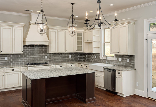 Antique White Kitchen Cabinets contemporary-kitchen