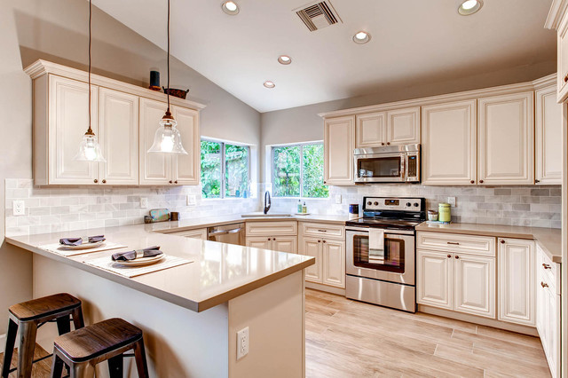 Houzz Arts And Crafts Kitchens