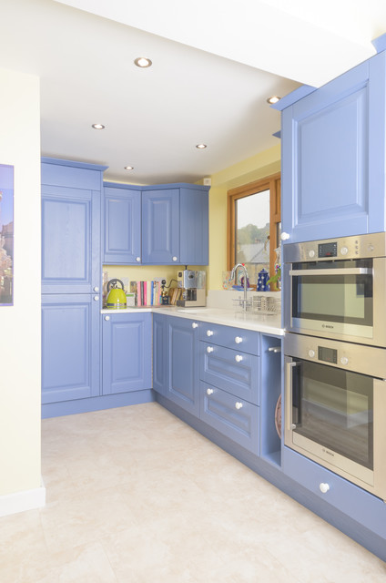 Antrim Painted In Farrow And Ball Pitch Blue Eclectic