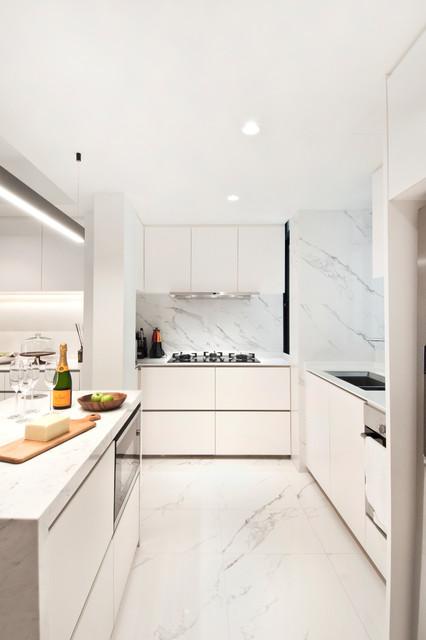 Apartment 02 at Spring Grove - Singapore contemporain-cuisine