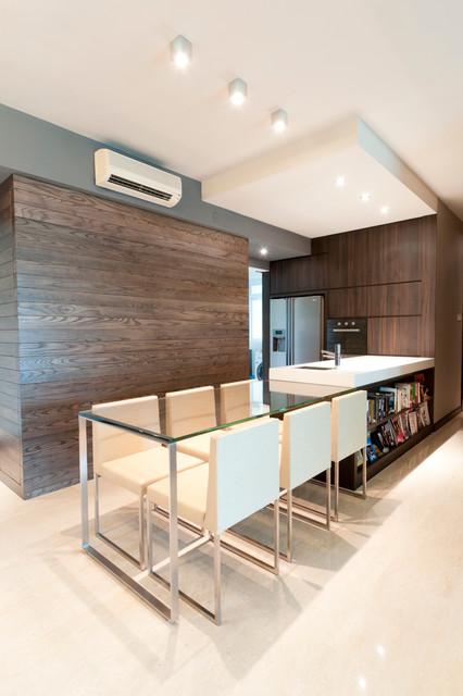 Apartment at Butterworth Lane - Singapore contemporary-kitchen