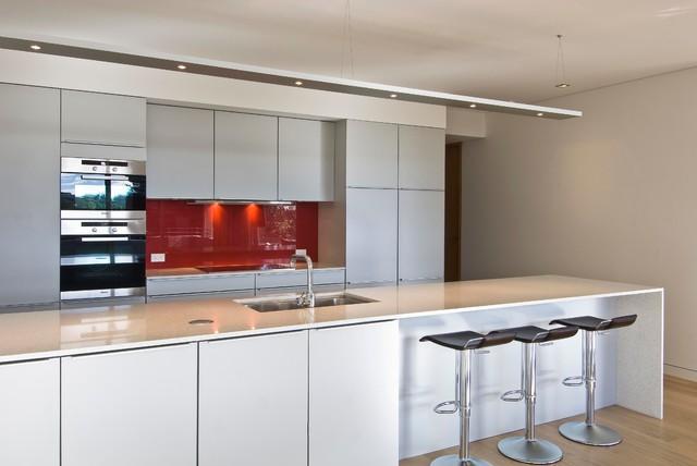 Apartment building kitchens contemporary-kitchen
