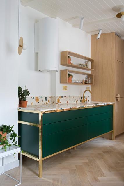 Scandinavian kitchen in London.