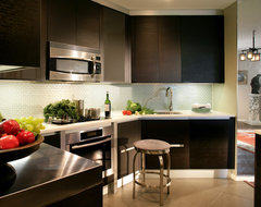 Apartment size kitchen modern-kitchen