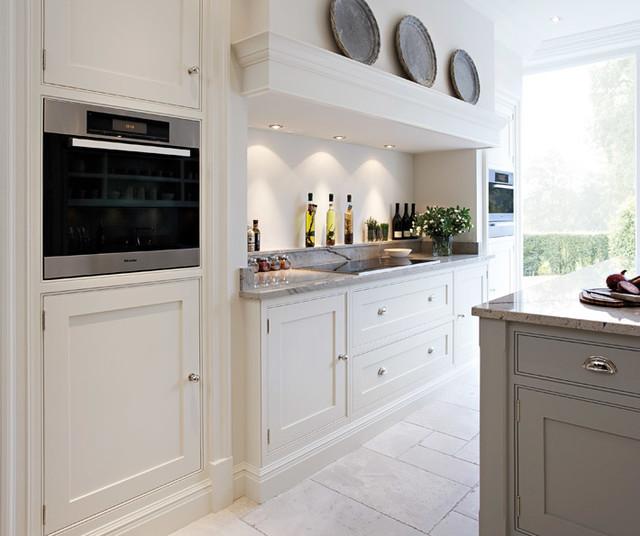 Apollo Shaker White - Traditional - Kitchen - scotland - by CAM Living